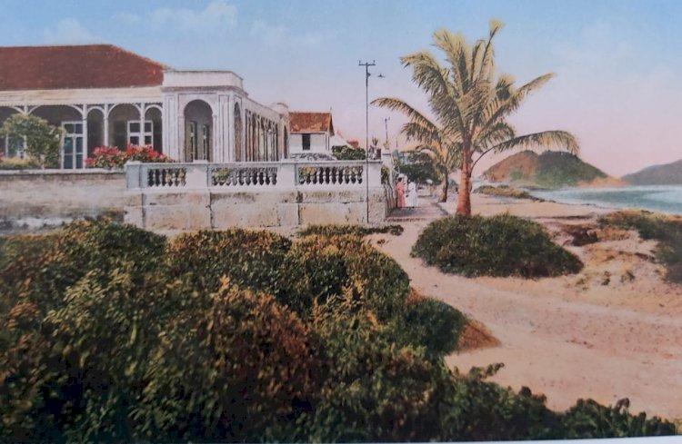 1915 - Guarujá, Sp - Praia de Pitangueiras