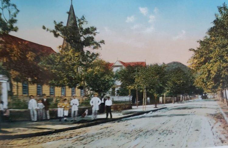 1915 - Guarujá, Sp - Primeira Igreja do Guarujá