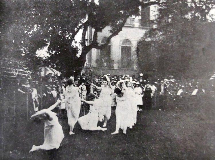 1920 - Inauguração da Embaixada Italiana no Rio de Janeiro