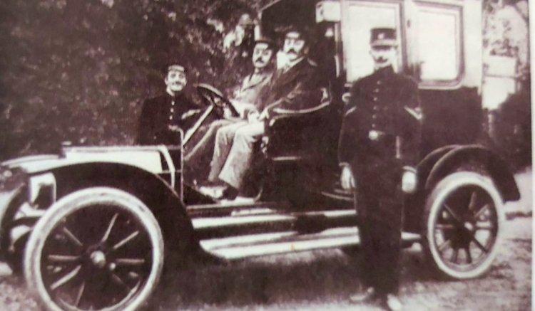 1910 - Primeiro Táxi Brasileiro