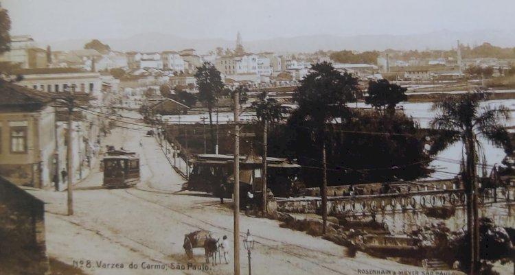 1910 - Rua 25 de Março e Várzea do Carmo (São Paulo)