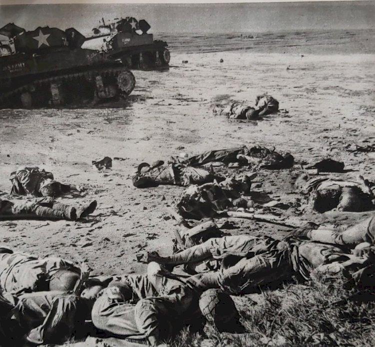 1943 - A Batalha de Tarawa - A Primeira Grande Ofensiva Americana
