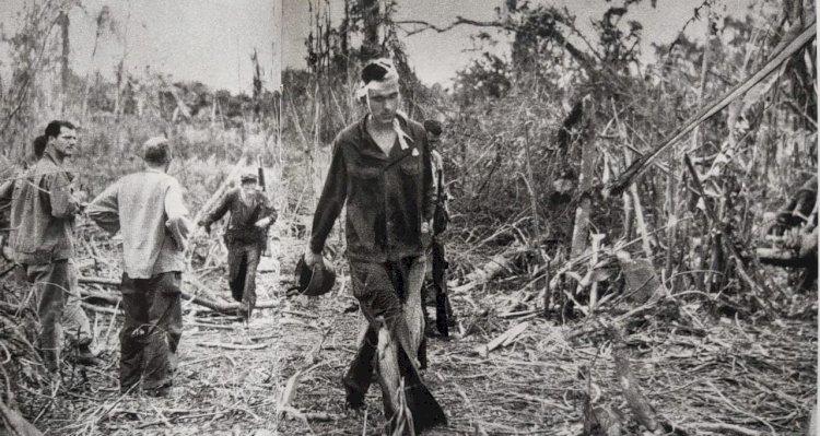 1943 - Patrulha norte-americana e os Nipônicos