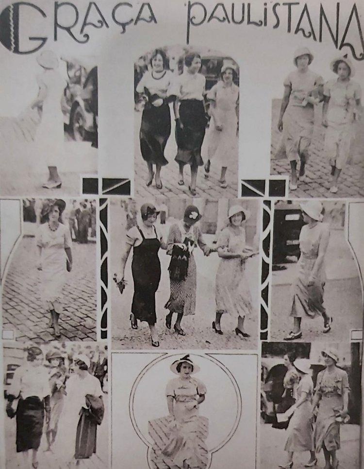 1932 - Revista A Cigarra - A Graça Paulistana