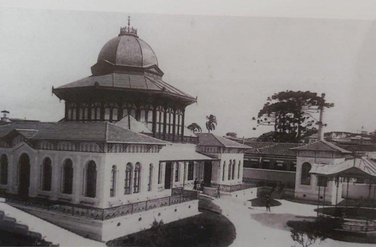 1896 - O Jardim da Infância da Escola Normal (atual Caetano de Campos), inaugurado em 1896