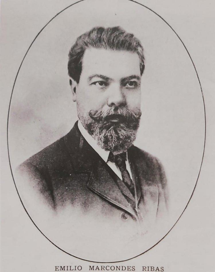 1902 - Dr. Emilio Marcondes Ribas, Diretor do Serviço Sanitário de São Paulo